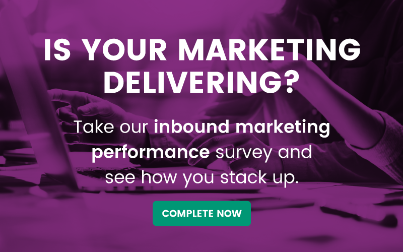 Inbound marketing performance audit